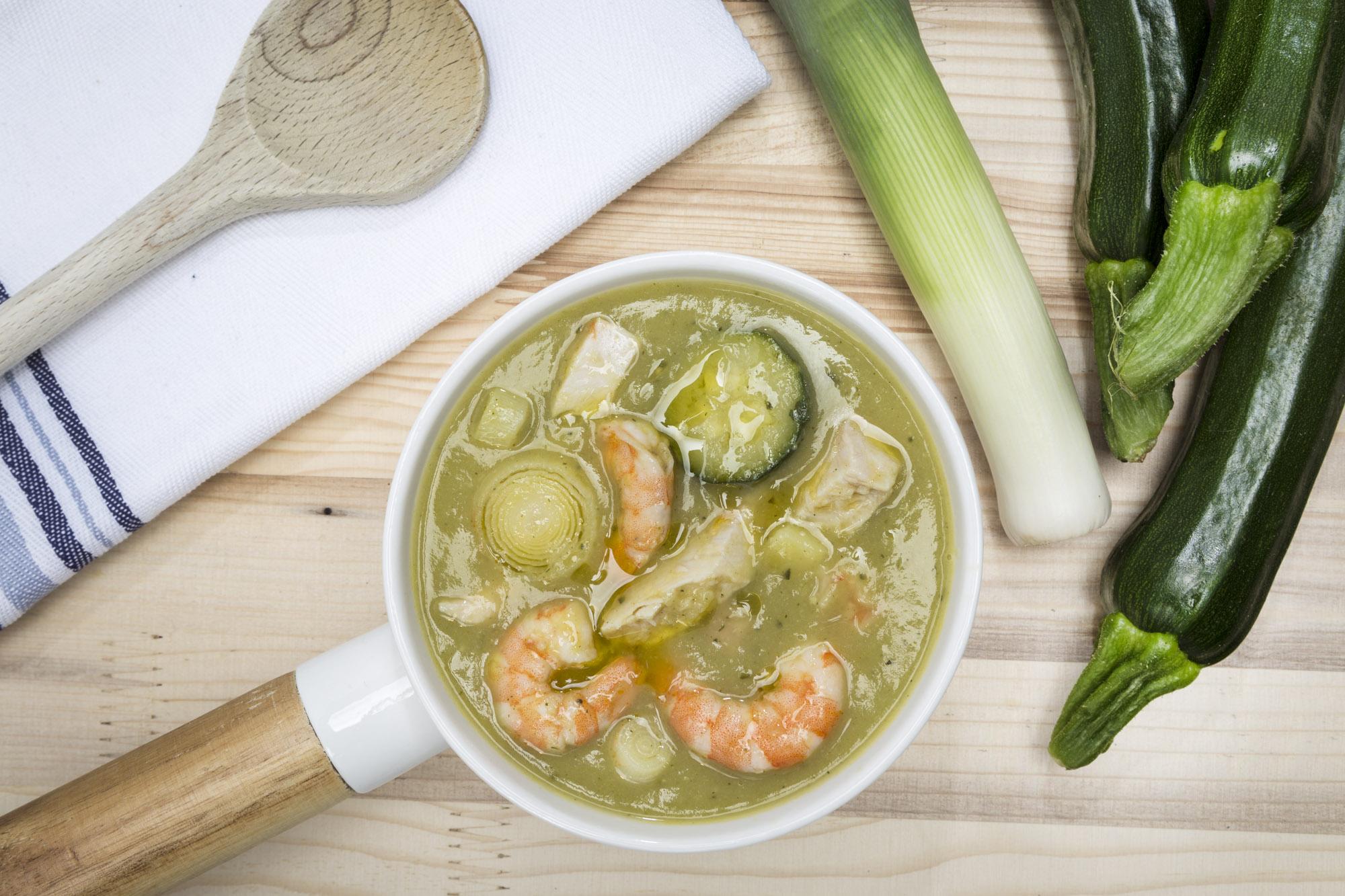 Fish-and-friends-Crema di zucchine